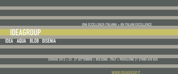 Ideagroup at Cersaie 2013