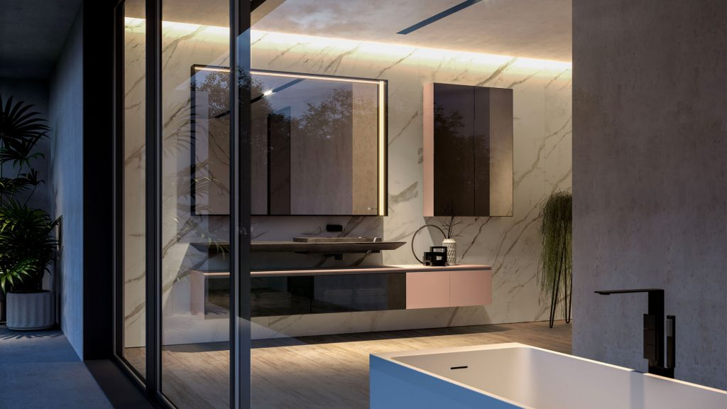 Arredo Bagno Marrone E Beige.Cubik Modern Furniture For Designer Bathroom Decor Ideagroup