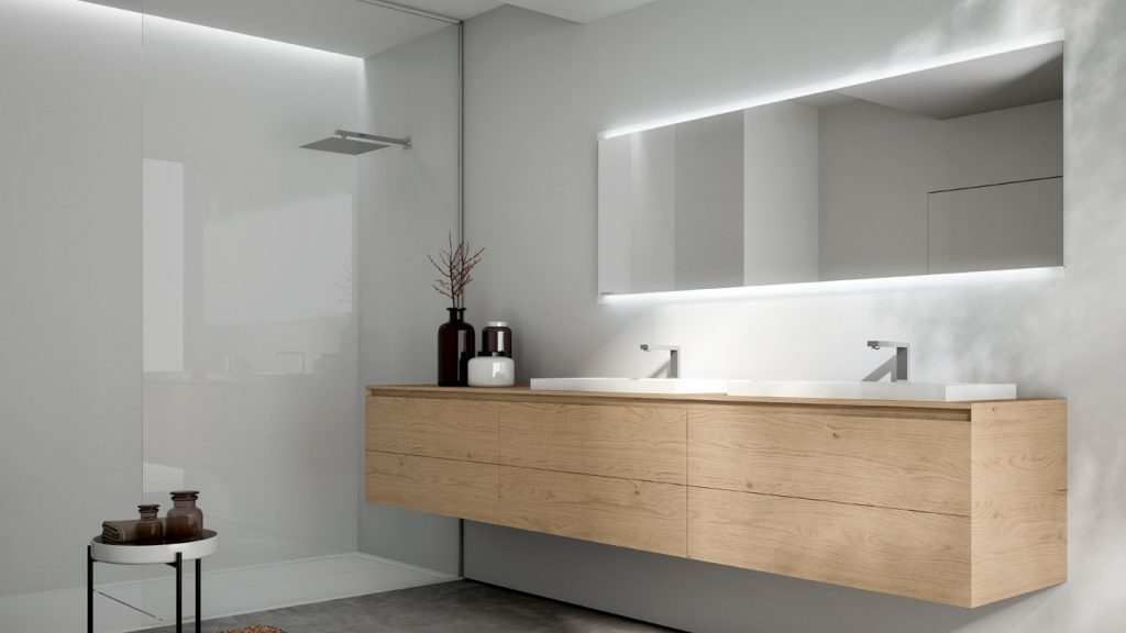 Mobile Bagno Lilla : Cubik: modern furniture for designer bathroom décor ideagroup