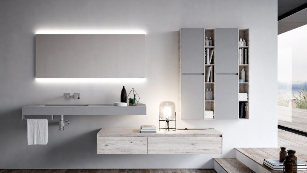 Nyù: elegant furniture for modern bathrooms ideagroup