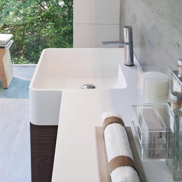 Bespoke Seventy washbasin in Aquatek