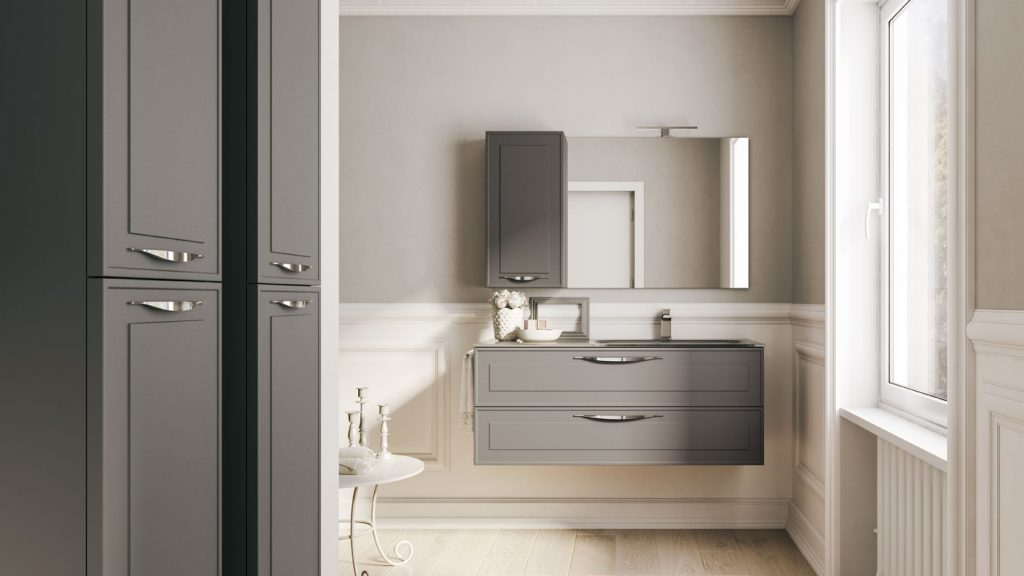 Idea Mobili Da Bagno.Dressy Elegant Furniture For Modern Bathrooms Ideagroup