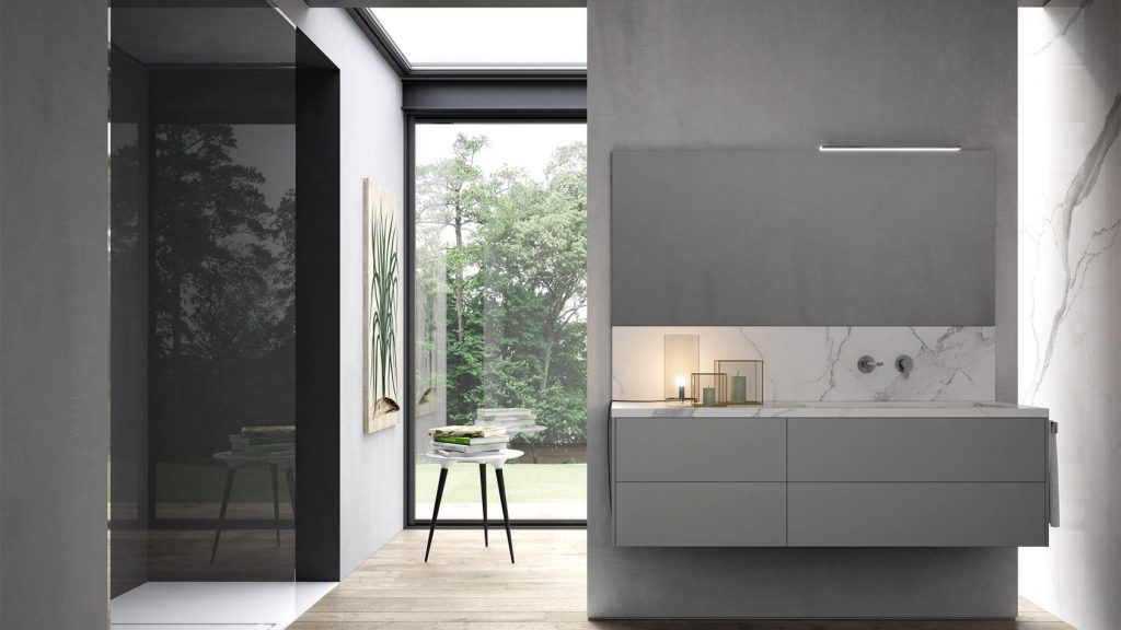 Sense modern designer bathroom furniture ideagroup