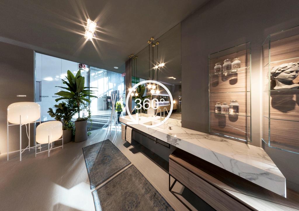 A 360° experience of the Salone Internazionale del Bagno