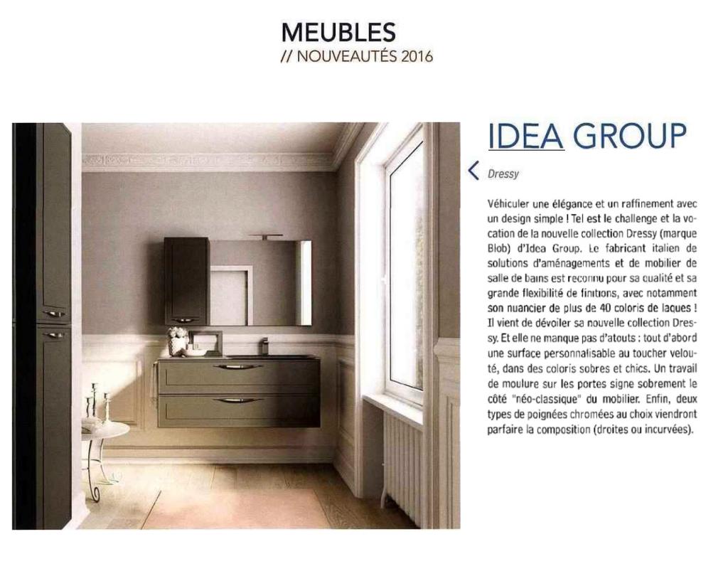 dressyblob in décor bains of february 2016 - ideagroup