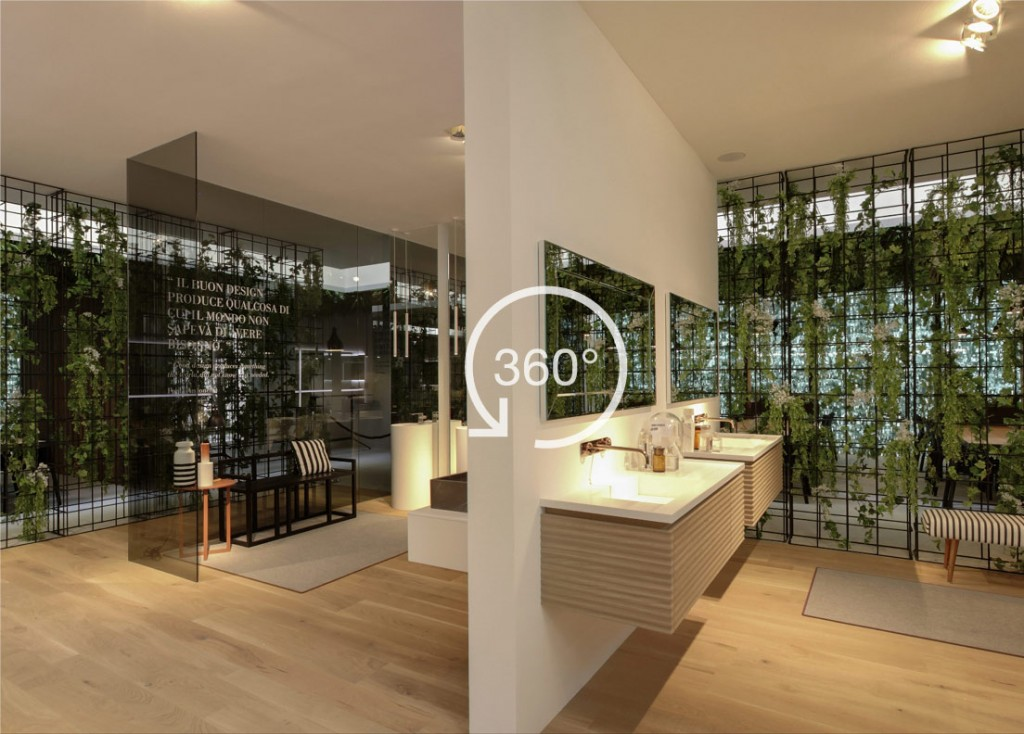 A 360° experience of Cersaie 2017