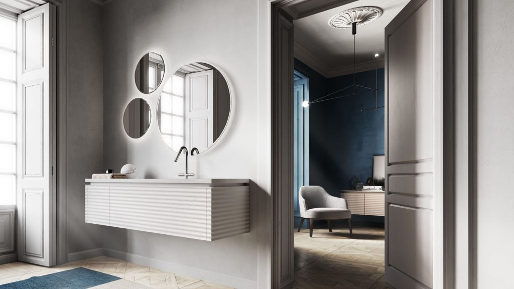 Aqua Mobili Da Bagno.Dolcevita Furniture For A Modern Sophisticated Bathroom Ideagroup