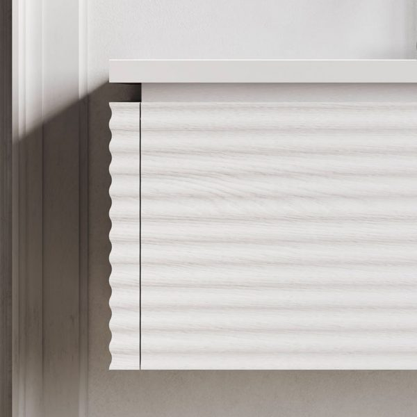 Corrugated 4 cm front and side panel