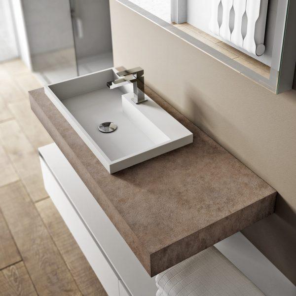 Cubik Modern Furniture For Designer Bathroom D 233 Cor