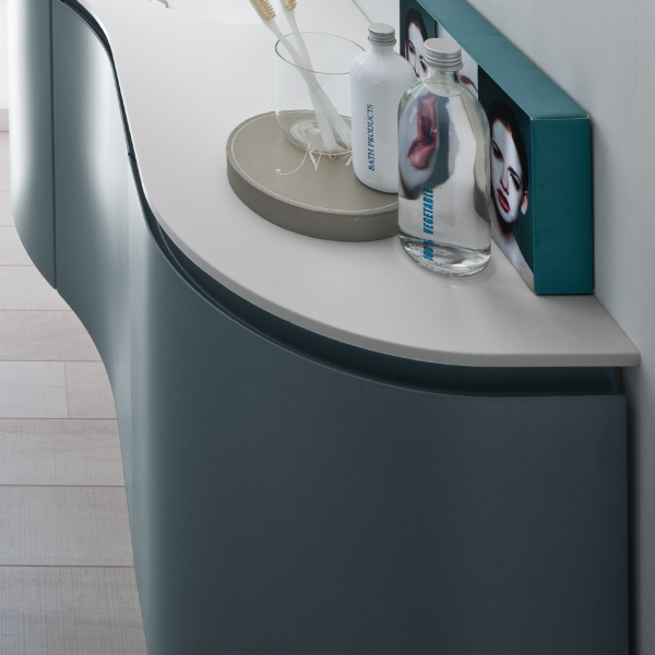 Rounded side-end cabinets
