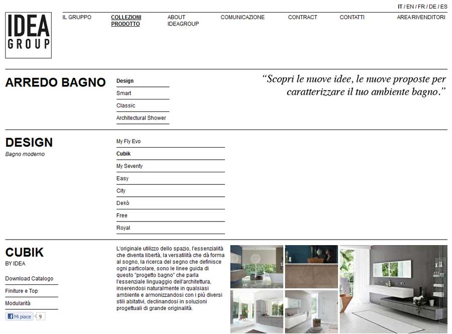 The new website ideagroup.it