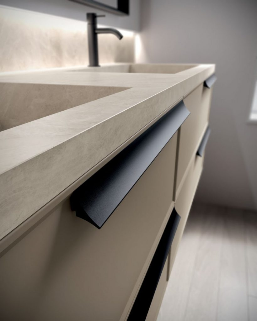 Form Floor Standing And Suspended Bathroom Cabinets