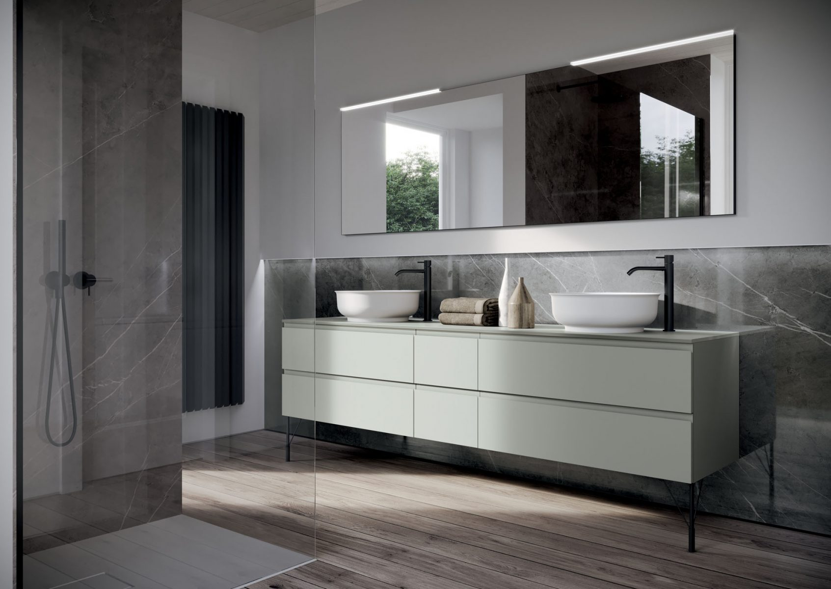 Form beauty meets functionality ideagroup for Vendita mobili bagno