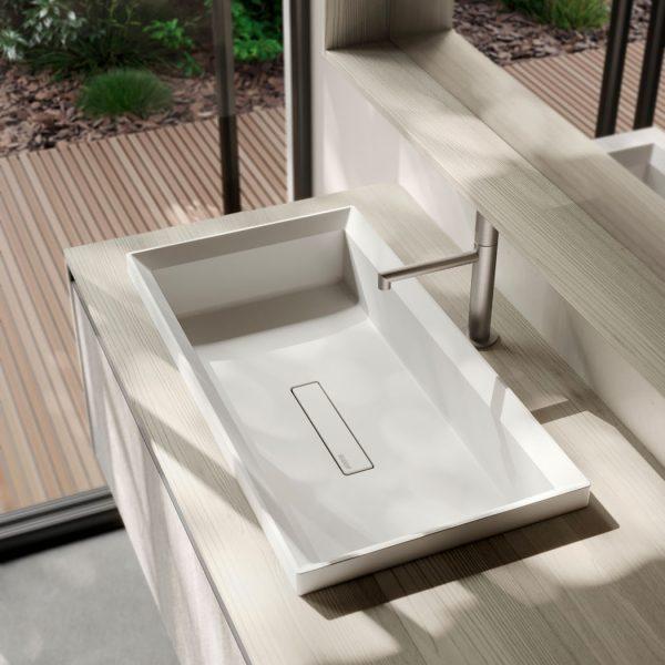 Elitè semi-inset washbasin